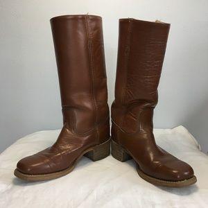 Vintage Men's Frye Campus Cowboy Boots, 8D